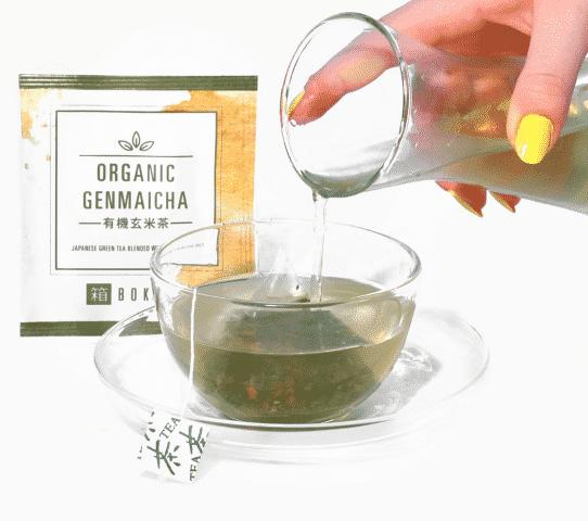 Bokksu japanese snack box - organic green tea (Small)