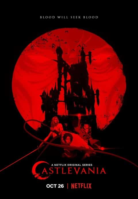 Castlevania, US adult animated series, released in 2017 (Small)