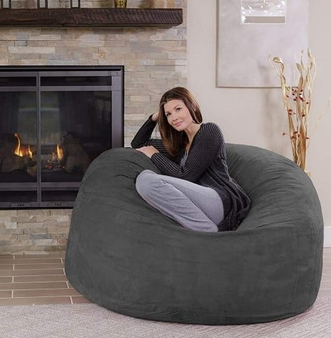 Chill Sack Bean Bag Chair, best bean bag chairs for readers