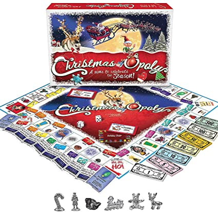 Christmas-opoly - best christmas board games for families