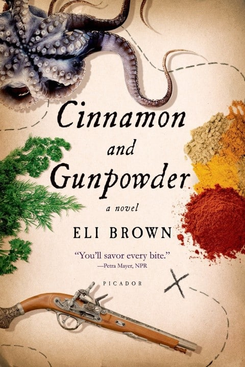 Cinnamon and Gunpowder by Eli Brown - best books about food (Small)