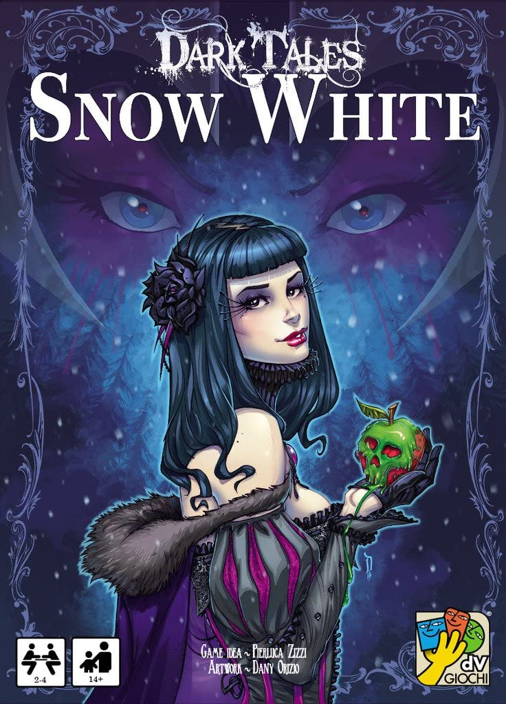 DA VINCI Davinci Editrice S.r.l. Dark Tales Snow White Board Game - best christmas board games for families to play during winter