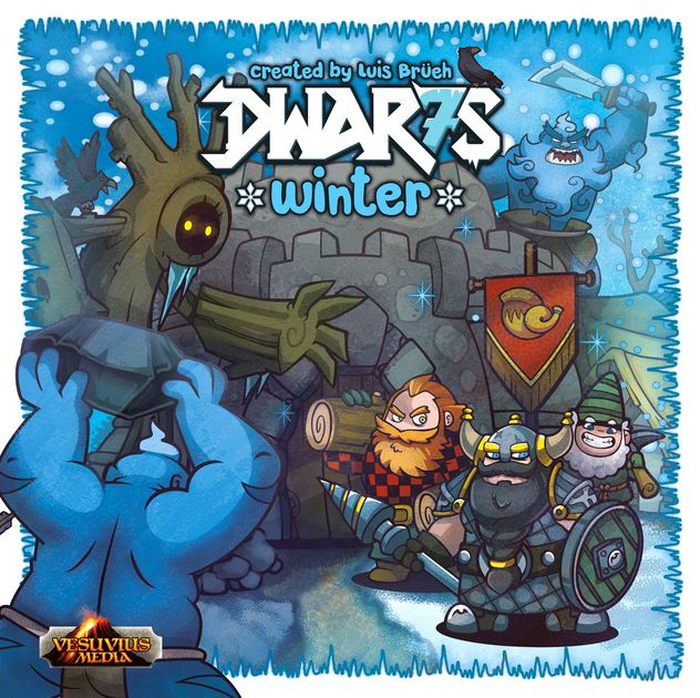 Dwar7s Winter - christmas board games for families