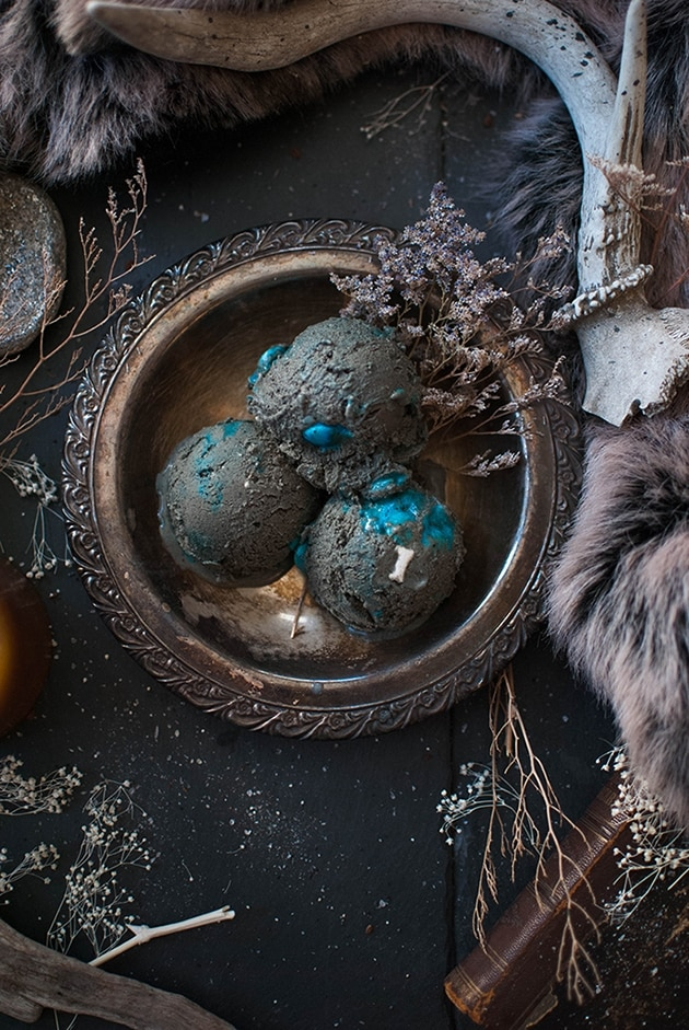 Game Of Thrones Inspired Ice Cream - best Christmas treats and snacks