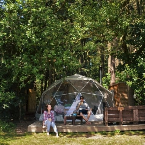 Glamping At Camp Katur In Yorkshire, UK - Asiana Circus themed hotels