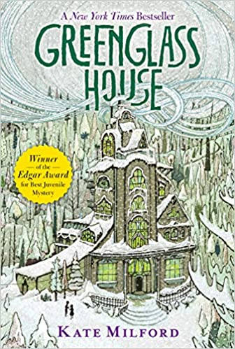 Greenglass House by Kate Milford, Published 2014, Mystery fiction novel for winter