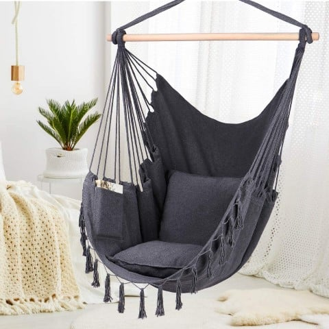 Hammock Chair with pocket, best armchairs for readers