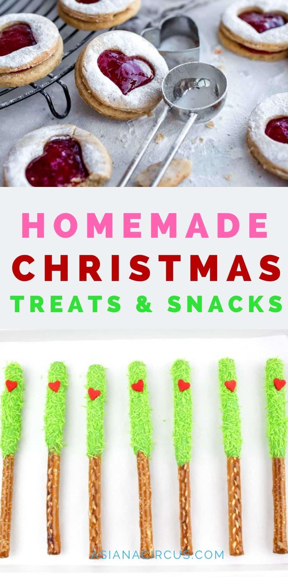Homemade Christmas treats & snacks