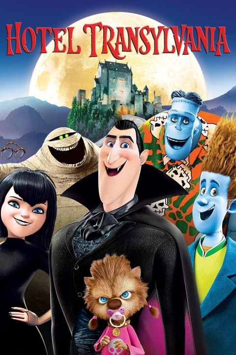 Hotel Transylvania - US Comedy, family animated movie, released in 2012
