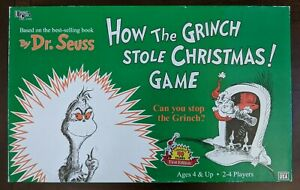 How The Grinch Stole Christmas Board Game best christmas board games ever