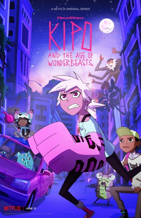 Kipo and the Age of Wonderbeasts - US Dystopian Animated series, First episode released in 2020 (Small)