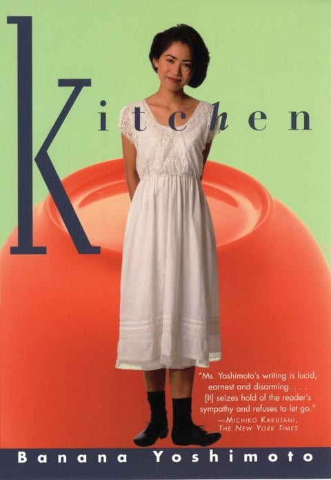 Kitchen by Banana Yoshimoto, Published 1988, Fiction Book for foodies (Small)