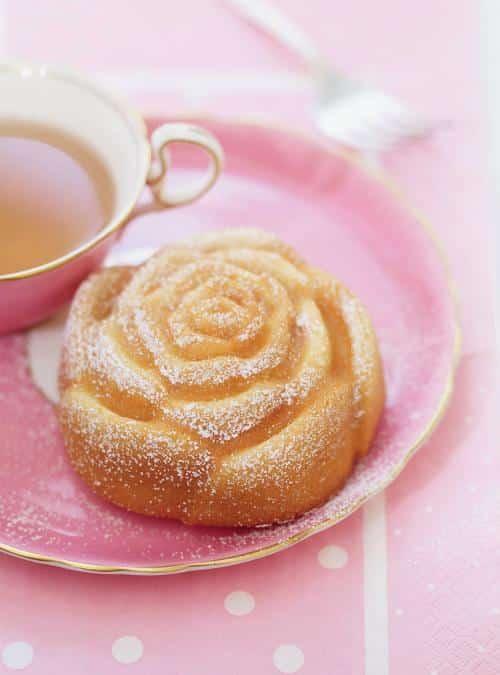 Lavender Rose Cakes - best Christmas treats for beginners