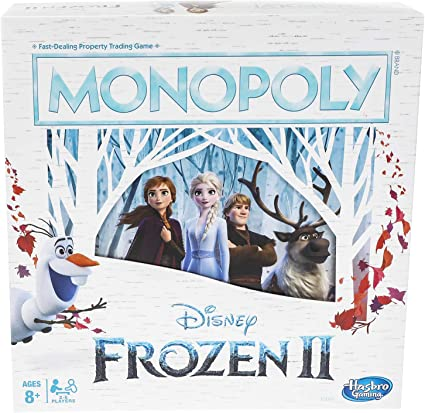 Monopoly Game Disney Frozen 2 Edition Board Game best Christmas Board games for families