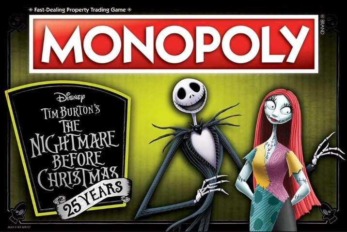 Nightmare Before Christmas board game - christmas board games for families (Small)