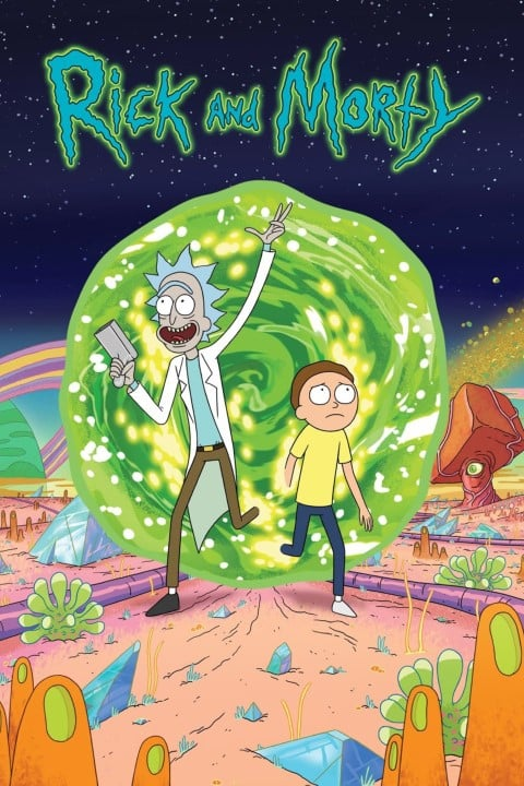 Rick & Morty - US animated comedy sci-fi series, released in 2013 (Small)