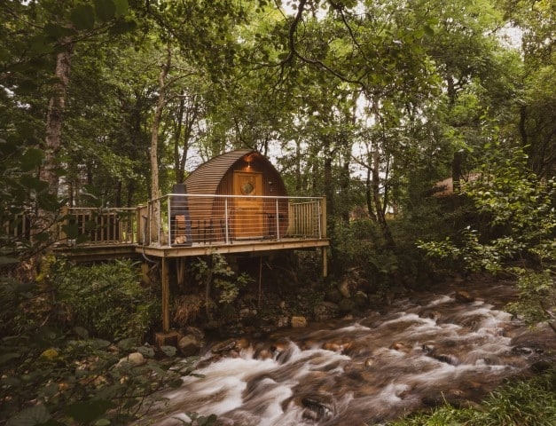 RiverBeds Luxury Wee Lodges, Glamping in Ballachulish, Scotland (Small)