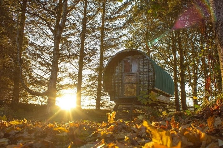 Roulotte Retreat, Glamping in Melrose, Scotland (Small)