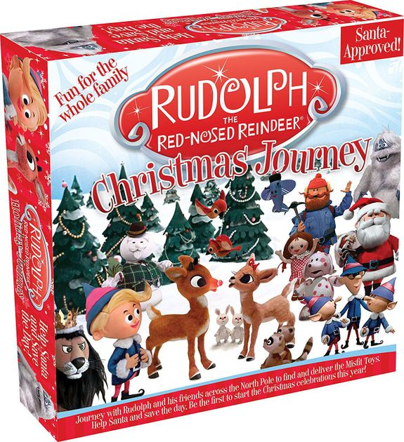 Rudolph The Red Nosed Reindeer Christmas Journey Board Game - best christmas board games for families
