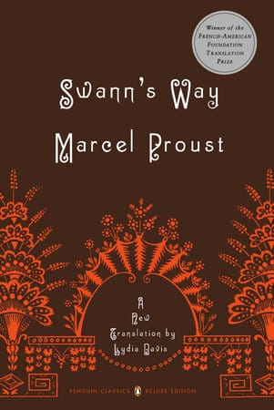 Swann's Way by Marcel Proust, Published November 14, 1913, Fiction novel for foodies