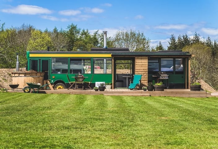 The Bus Stop, 2 Glamping East Lothian, Scotland (Small)