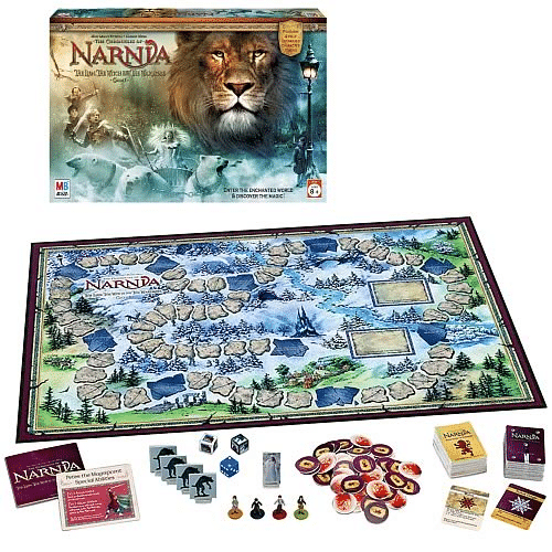 The Chronicles of Narnia The Lion, The Witch, and The Wardrobe Board Game for families for christmas and winter