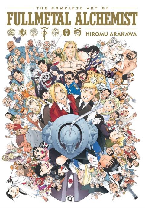 The Complete Art of Fullmetal Alchemist by Hiromu Arakawa - best anime art books - best anime art books for anime lovers