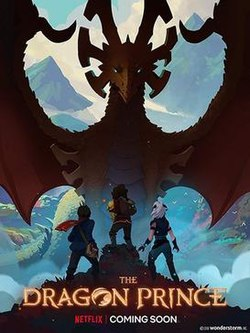 The Dragon Prince - US fantasy computer-animated series released in 2018