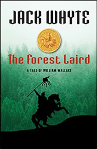 The Forest Laird by Jack Whyte - best fantasy books set in Scotland