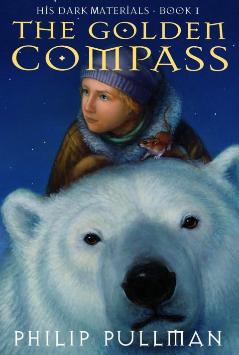 The Golden Compass by Philip Pullman, Published in 1995, Steampunk, YA fantasy book series (Small)