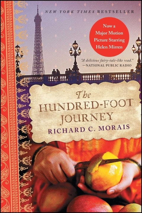 The Hundred-Foot Journey by Richard C Morais - best fiction books for foodies (Small)