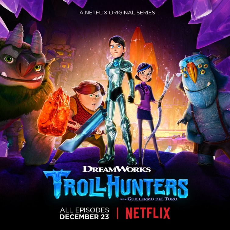 Trollhunters Tales of Arcadia - US fantasy animated series, First episode released in 2016 (Small)
