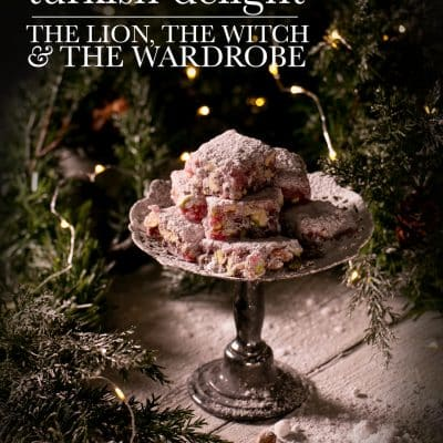 Turkish-Delight-recipe-from-Chronicles-of-Narnia-InLiterature-christmas snack recipes
