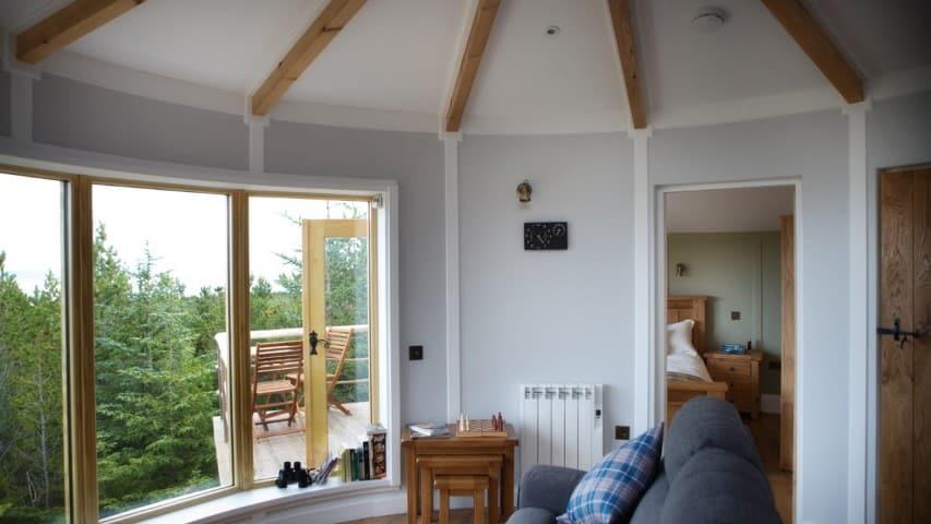 Uist Forest Retreat interior, Glamping in North Uist, Scotland (Small)