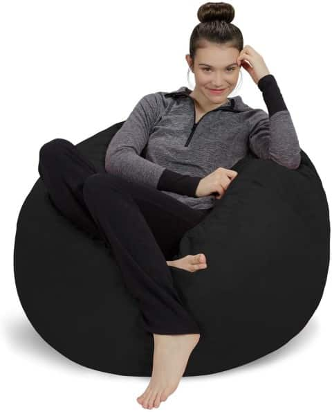 Ultra Soft Memory Foam Bean Bag Chair For Adults, best reading chairs for adults