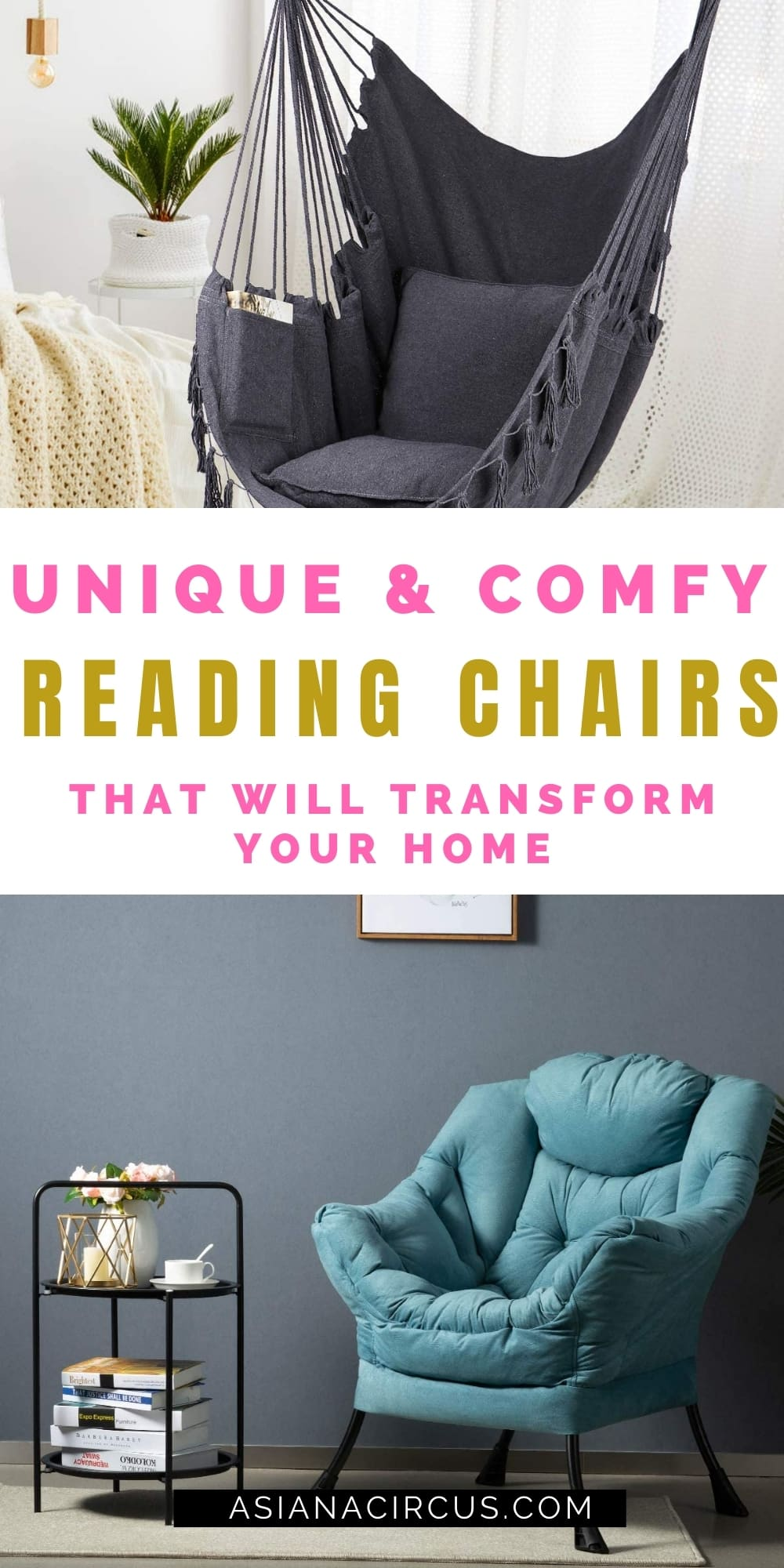Unique And Comfy Reading Chairs