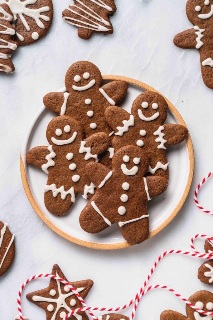 Vegan-Gingerbread-Cookies-Sweet-Simple-Vegan - best christmas treats
