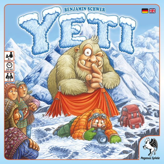 Yeti - christmas board games for families