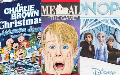 25 Best Winter Themed & Christmas Board Games