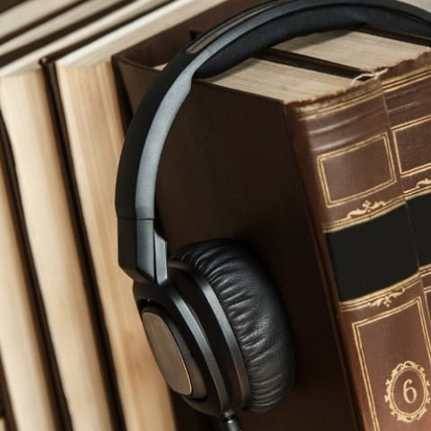 best fantasy audiobooks of all time - Asiana Circus book nook, book lists