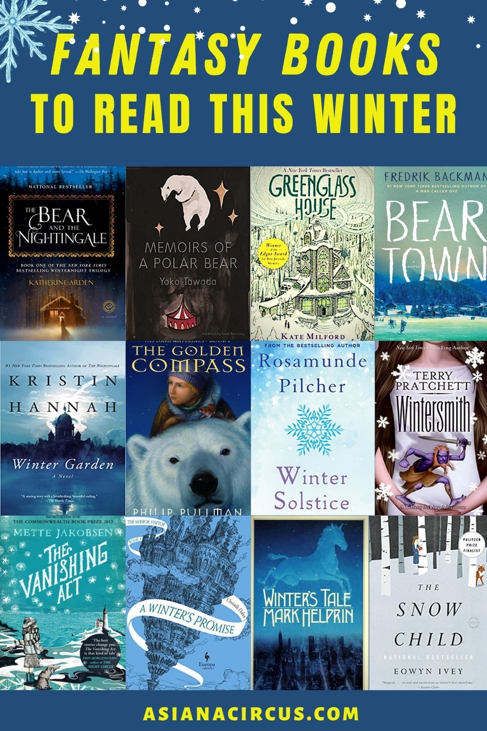 best fantasy books to read this winter