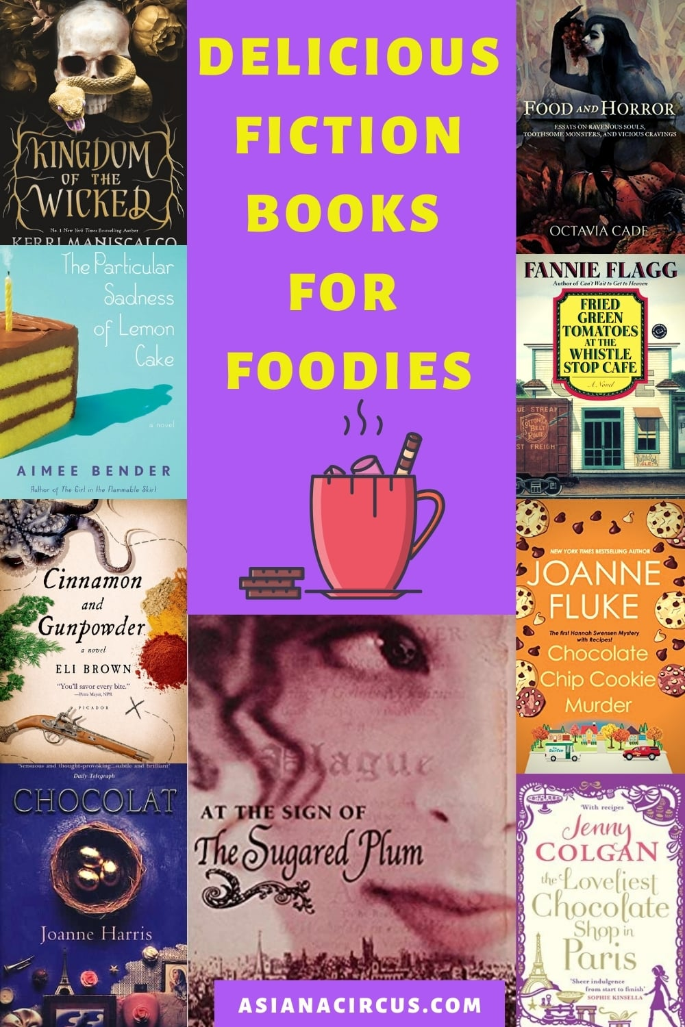best fiction books for foodies - best novels about food