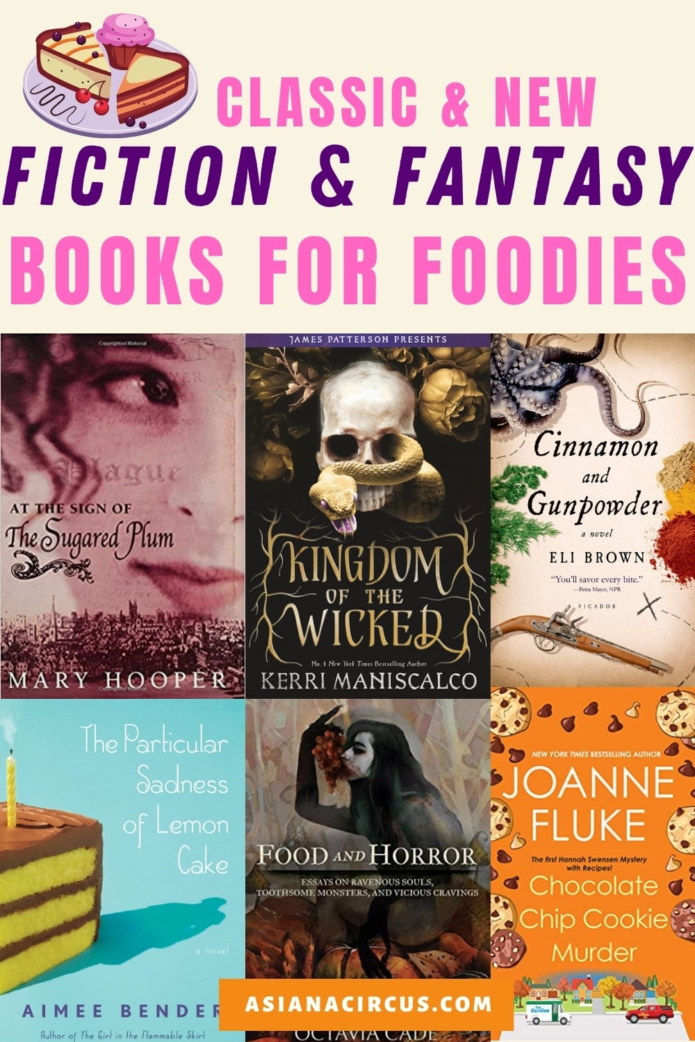 best fiction books for foodies
