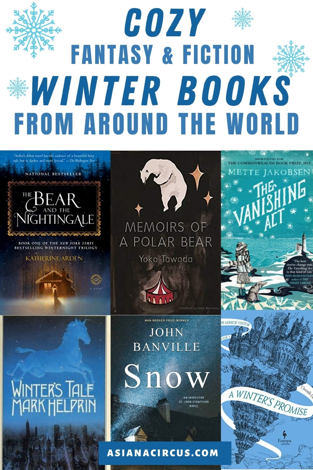 cozy winter books for adults
