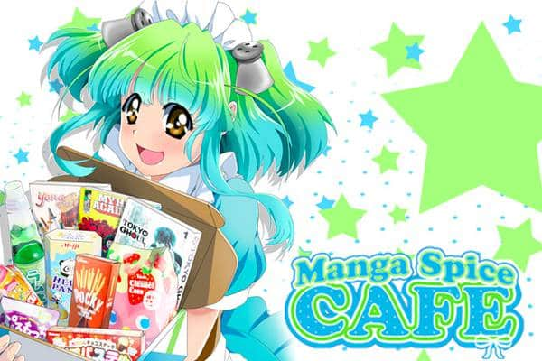 manga spice cafe - manga subscription box