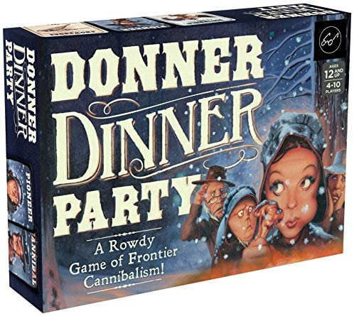 Chronicle Books Donner Dinner Party A Rowdy Game of Frontier Cannibalism