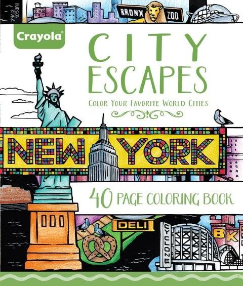 Crayola City Escapes Coloring Pages