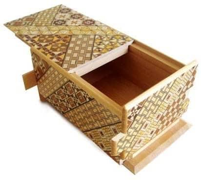 Japanese Yosegi Puzzle Box (Small)