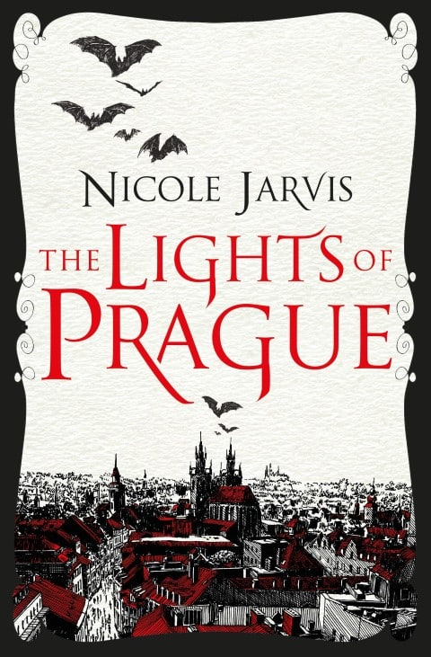 The Lights of Prague by Nicole Jarvis, Expected on May 18, 2021, Historical Romance Dark Fantasy Book (Small)