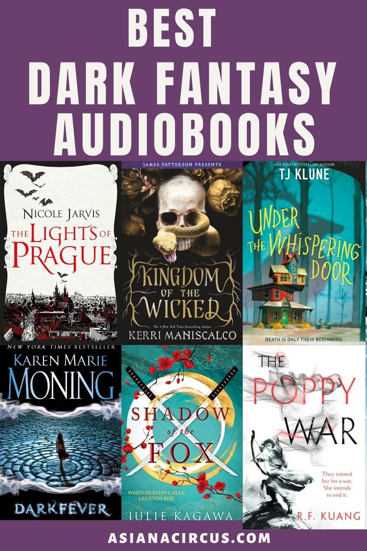 dark fantasy audibooks